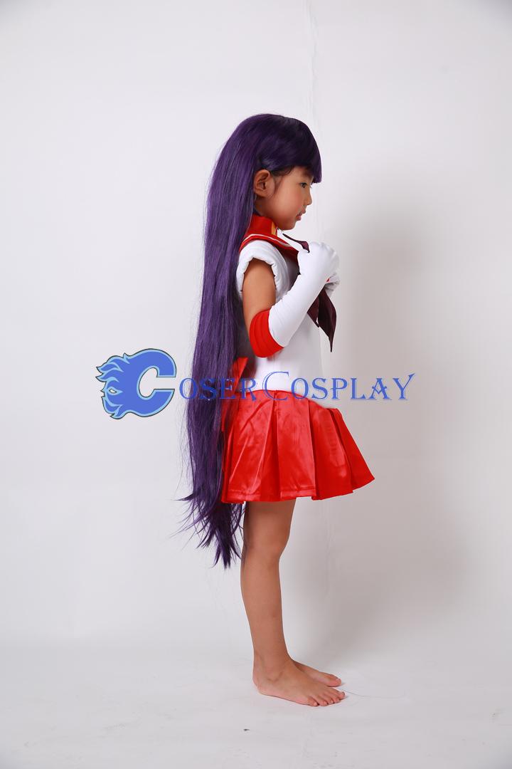 Sailor Moon Crystal Sailor Mars Hino Rei For Kids Cosplay