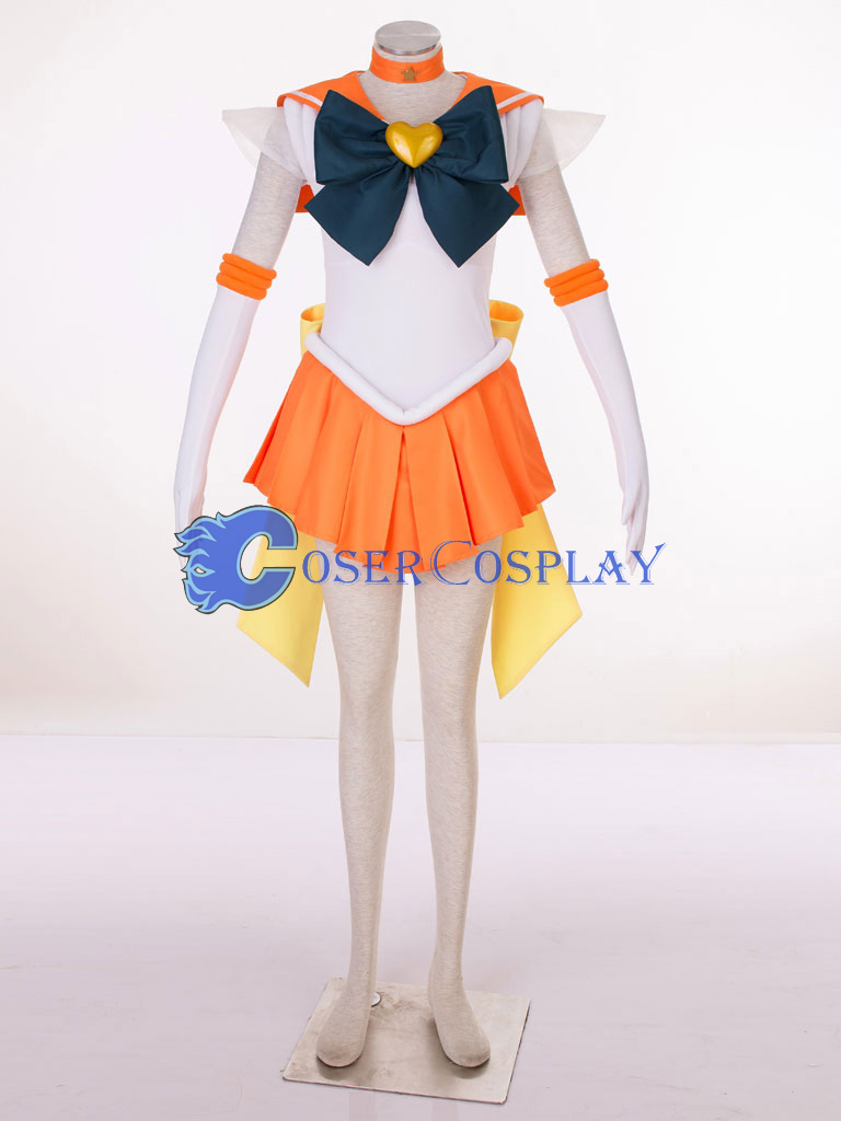 Sailor Moon Crystal Sailor Venus Minako Aino Cosplay Costume