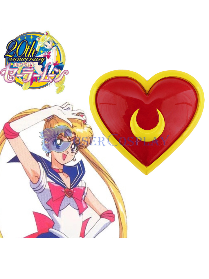 Sailor Moon Crystal Tsukino Usagi Moon heart Pectoral Cosplay Accessories