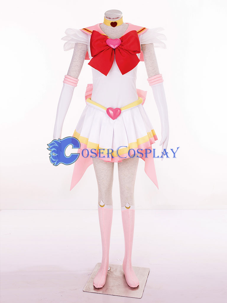 Sailor Moon SuperS Chibimoon Chibi Usa Small Lady Serenity Cosplay Costume