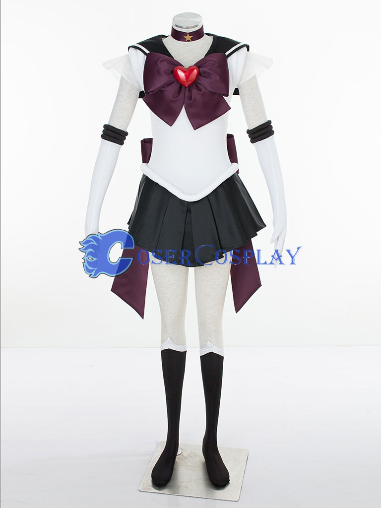 Sailor Moon SuperS Meiou Setsuna Sailor Pluto Cosplay Costume