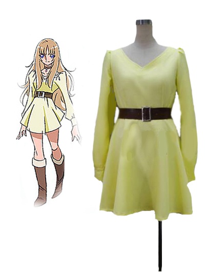 Saint Seiya Omega Aquila Yuna Uniform Cosplay Costume