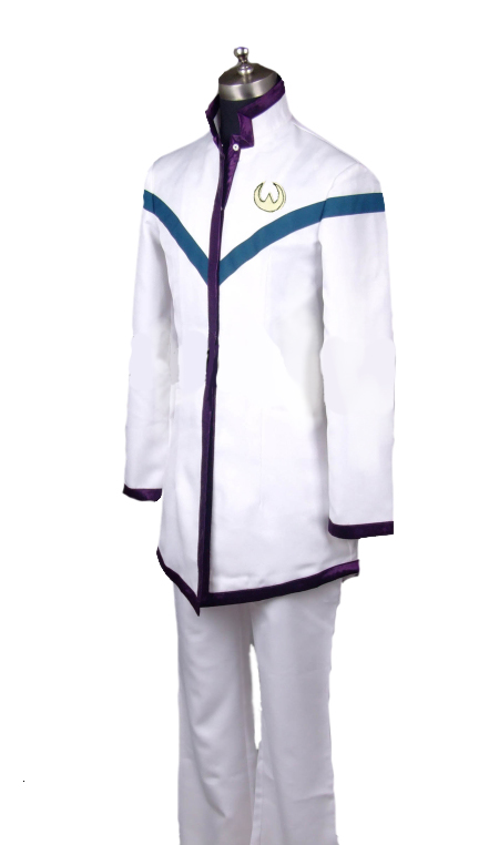 Saint Seiya Omega Pegasus Koga Palaestra Boys School Uniform Cosplay Costume