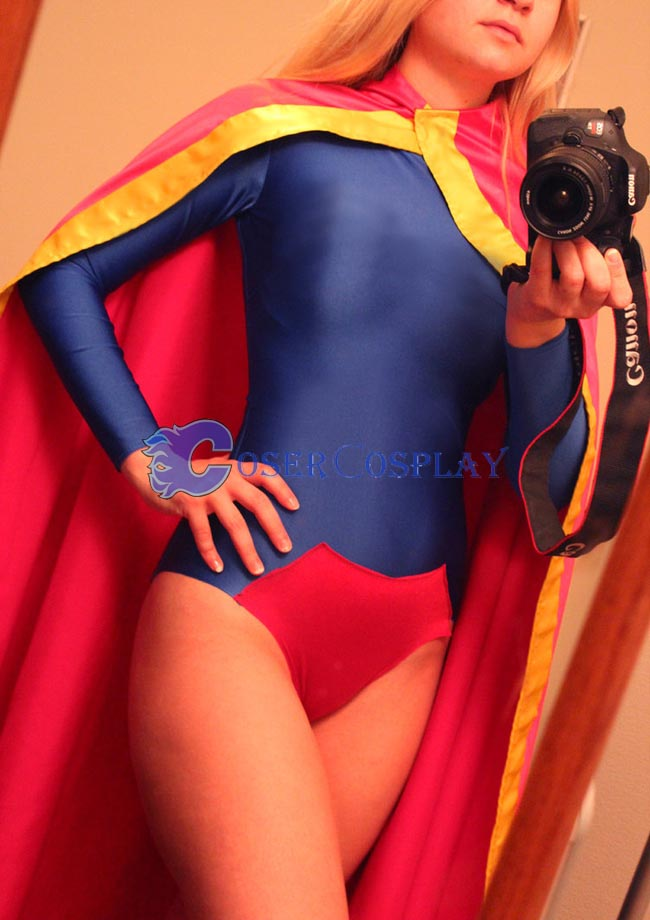 Sexy Supergirl Cosplay Costume Fashion