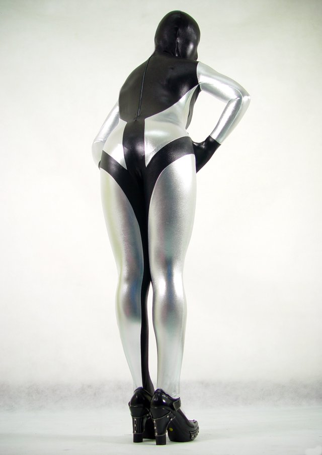 Silver Sexy Halloween Costumes For Women Zentai