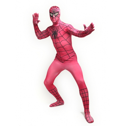 Skin Suit Zentai Spiderman Costume