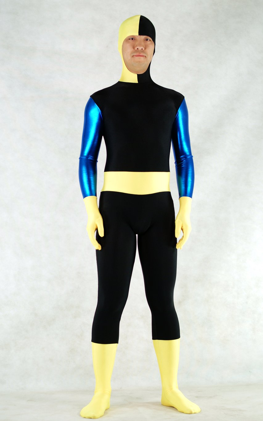 Spandex Open Face Lycra Full Body Suit Zentai