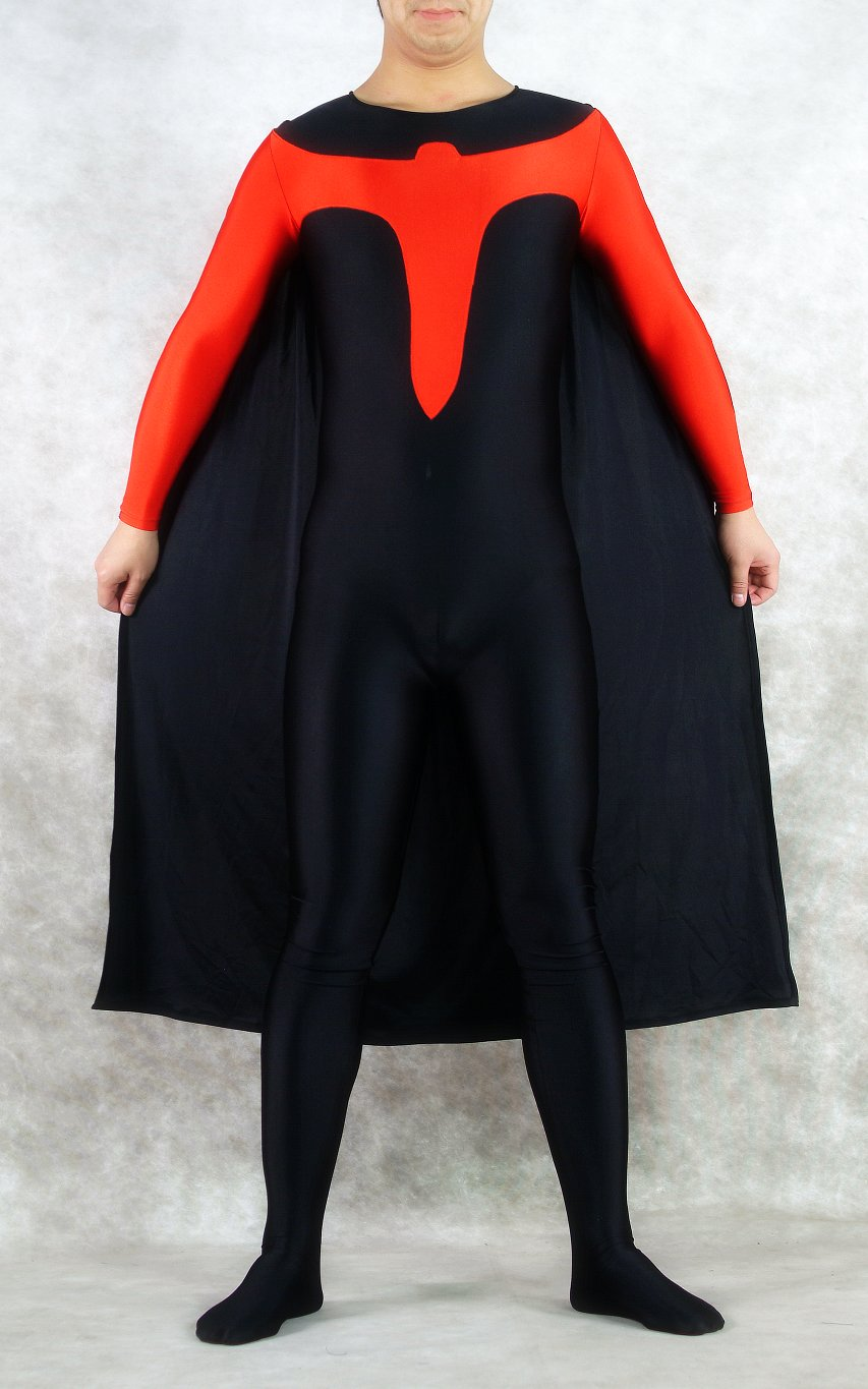 Spandex Superhero Halloween Costumes Catsuit