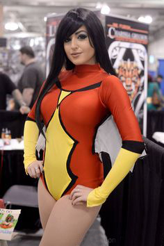 Spider-Woman Bodysuit Sexy Halloween Costumes For Women 16081708
