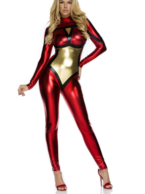 Spider Woman Catsuit Sexy Halloween Costumes For Women 16081704 |  cosercosplay.com