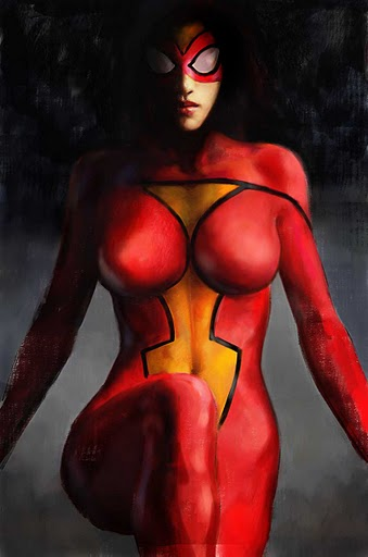 Spider-Woman Sexy Halloween Costumes For Women 16081713