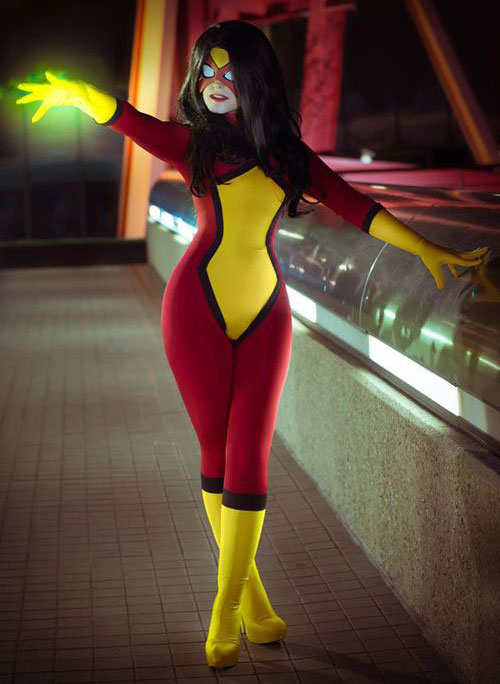 Spider-Woman Sexy Halloween Costumes For Women 16081715