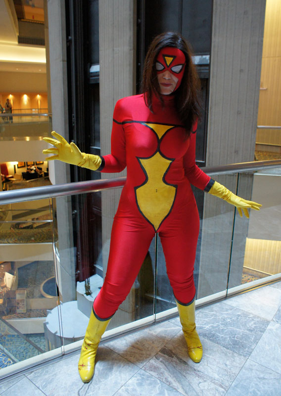 Spider-Woman Sexy Halloween Costumes For Women 16081716