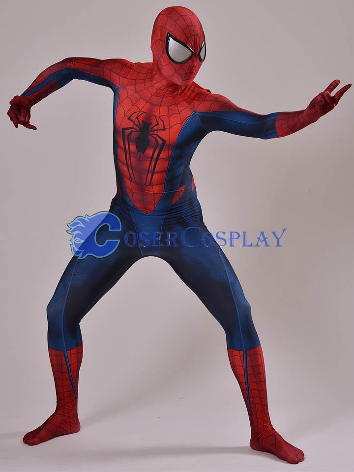 Spiderman Superhero Quality Halloween Costumes