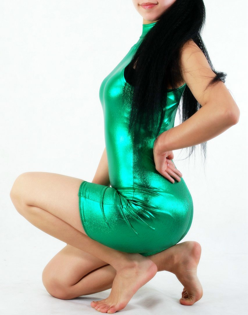 Sportswear Costume Body Suit Green
