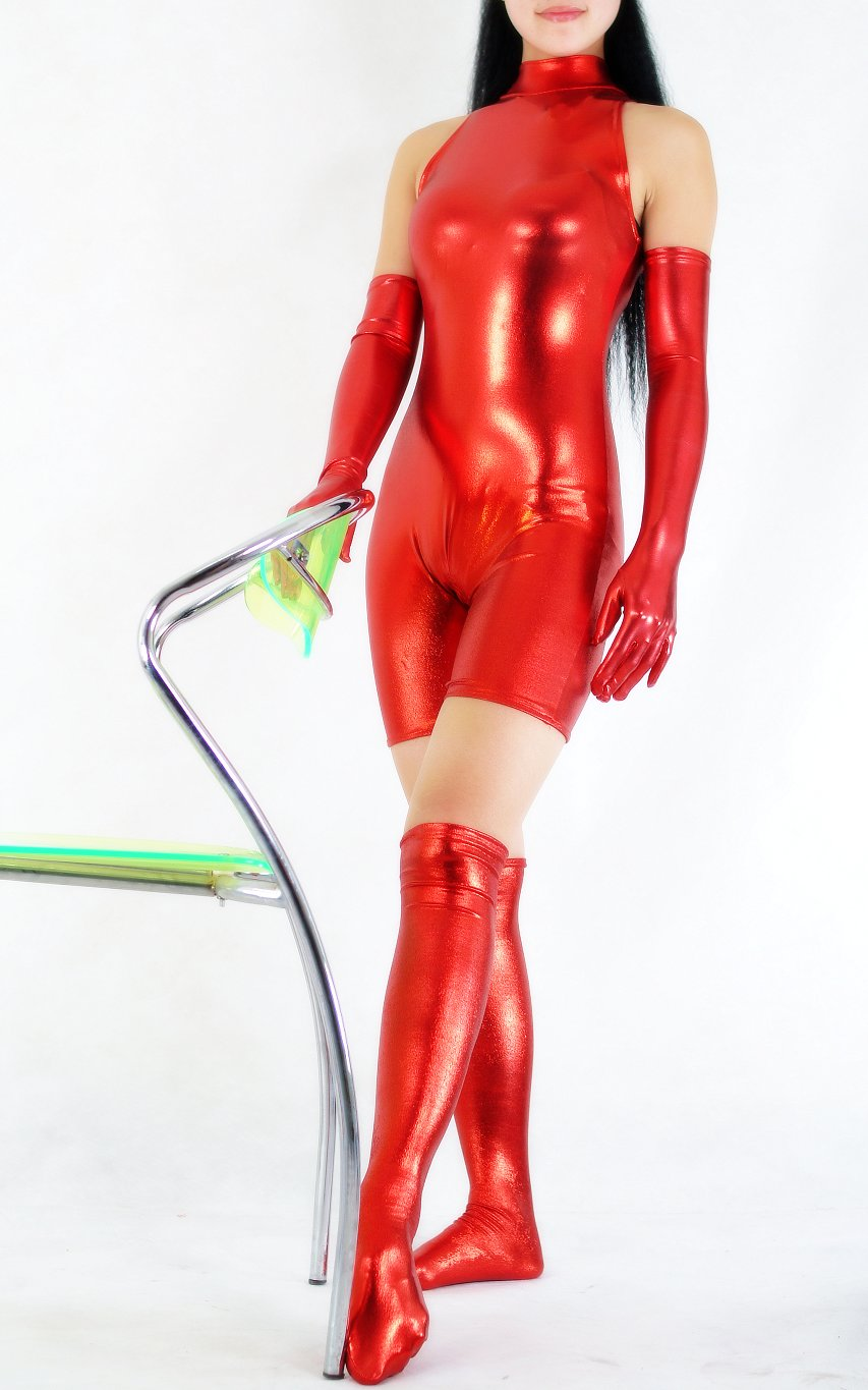 Sportswear Costume Body Suit Red