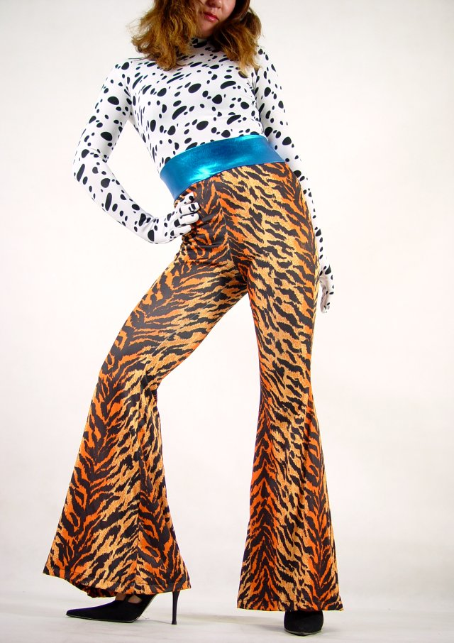 Spotty Dog Leopard Lycra Catsuit