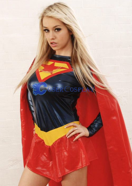 Star Dark Supergirl Cosplay Costume Halloween