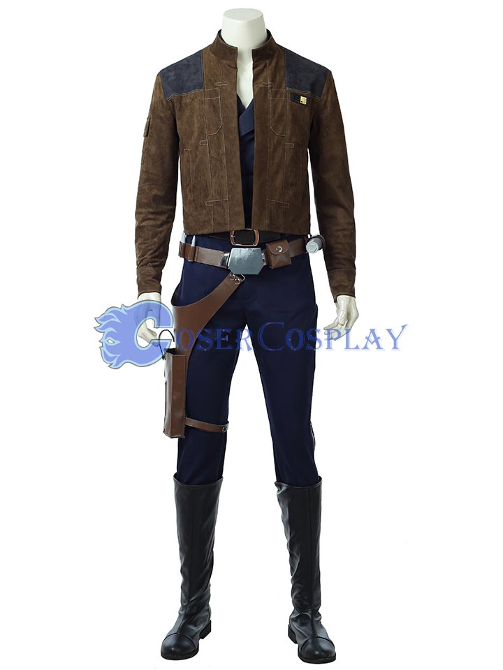 Star Wars Han Solo Cosplay Boots