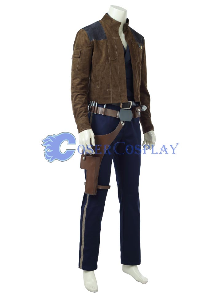 Star Wars Han Solo Cosplay Costume 180530