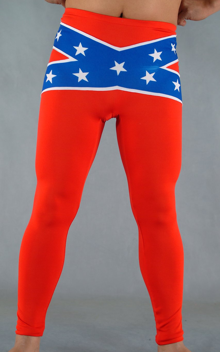 Stars Red Sexy Spandex Leggings