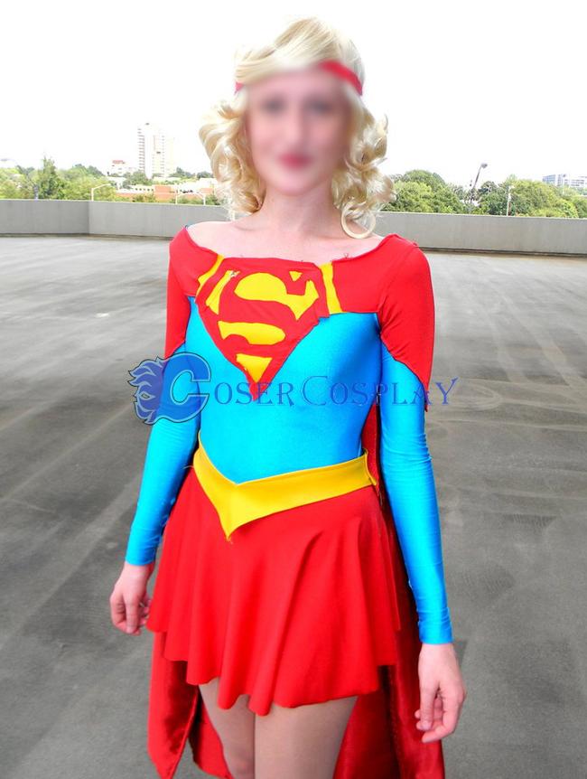 Supergirl Cosplay Cosplay Costume Halloween Wear  9199fd052921