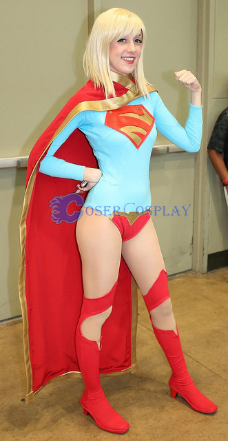 Supergirl Cosplay Costume New Halloween