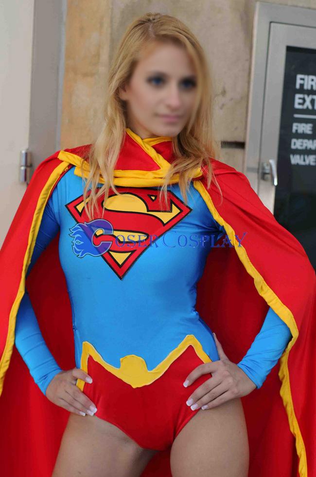 Supergirl Cosplay Costume Sexy Halloween | cosercosplay.com