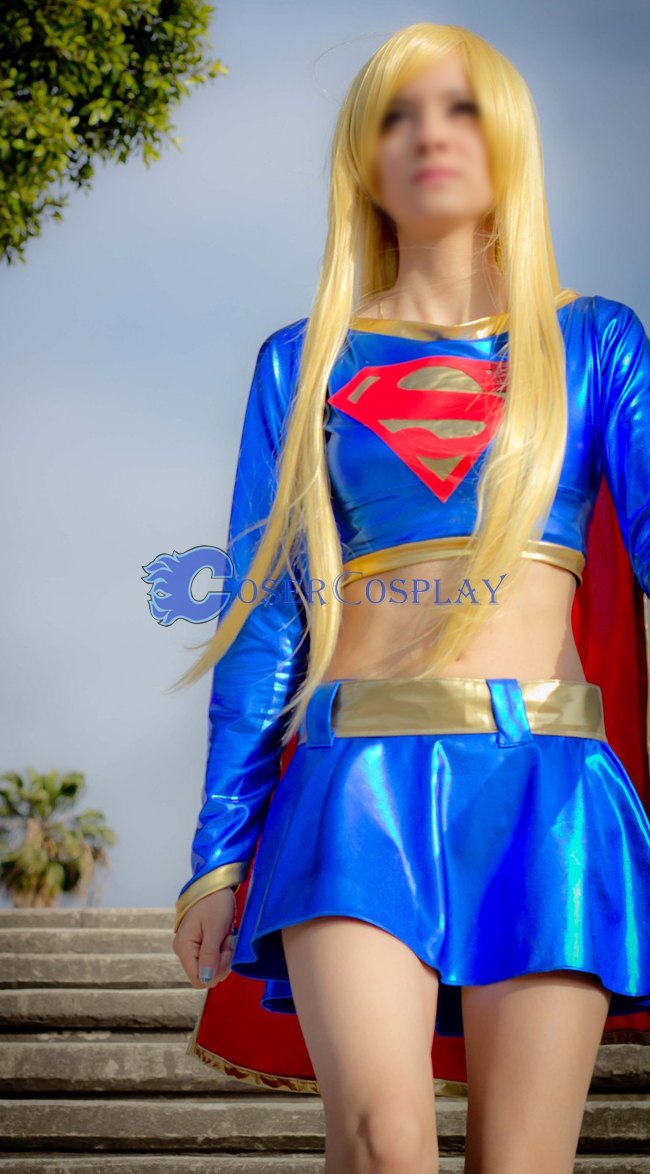 Supergirl Cosplay Plus Size Halloween Costumes