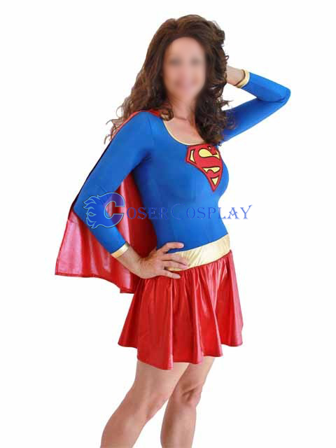 Supergirl Dress Halloween Costumes