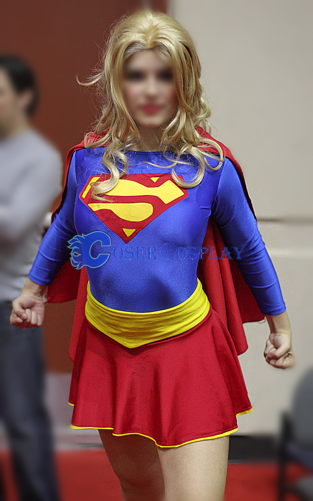 Supergirl Dress Plus Size Halloween Costumes