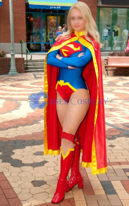 Supergirl Plus Size Cosplay Costumes  sc 1 st  Cosercosplay.com & Supergirl Plus Size Cosplay Costumes | cosercosplay.com
