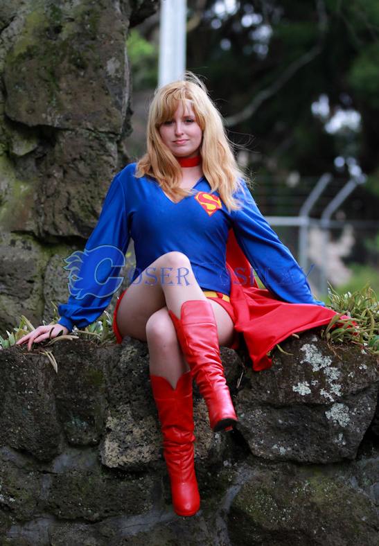 Supergirl Plus Size Halloween Costumes