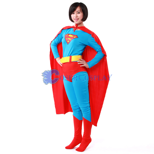 Superhero Capes Halloween Costumes For Women
