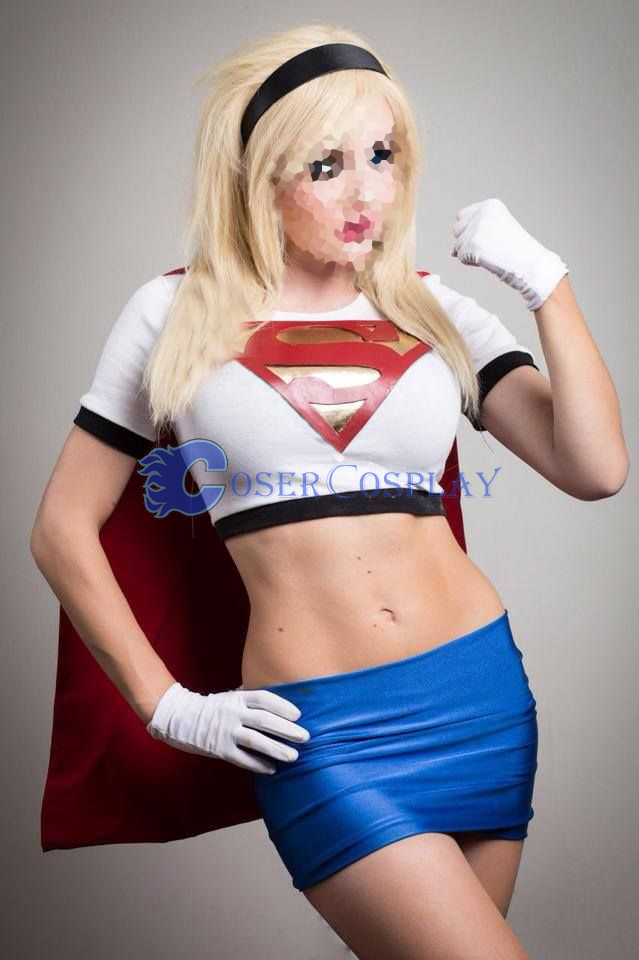 Superman Cosplay Costume For Girls