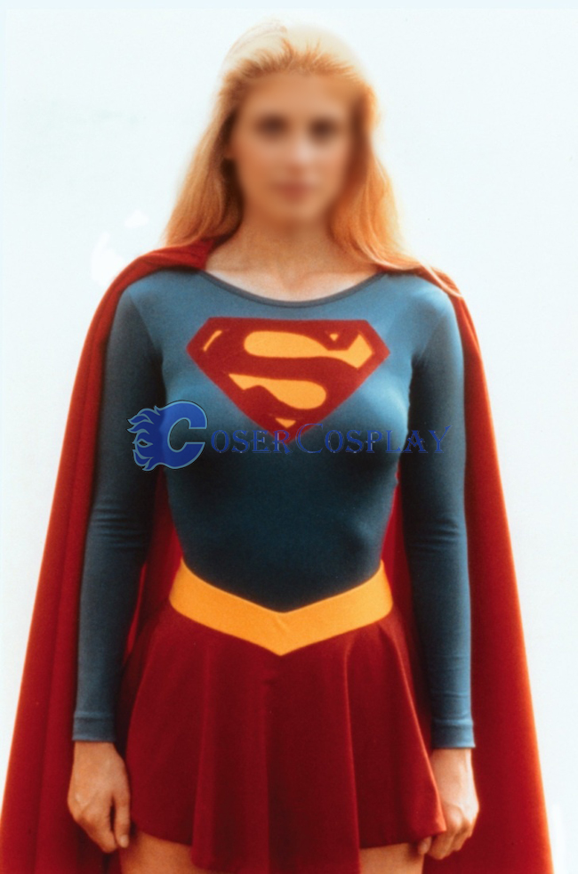 Superman Cosplay Costume For Women Classic