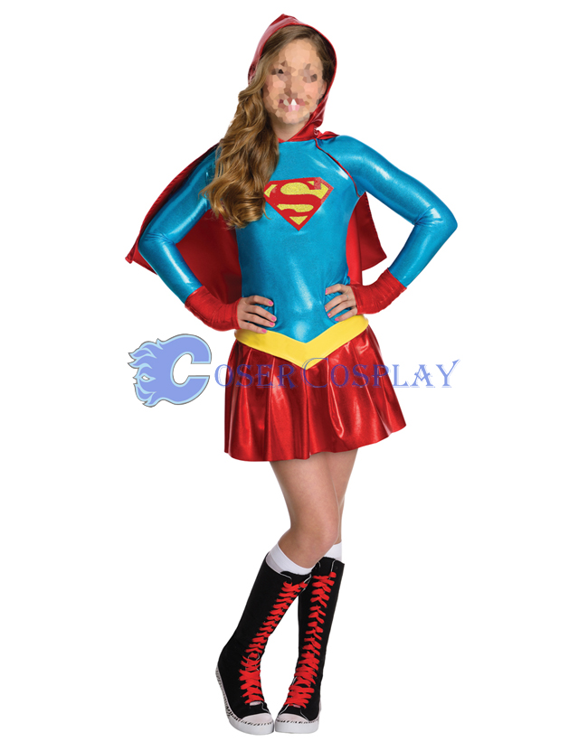 Superman Cosplay Costume Girls For Halloween