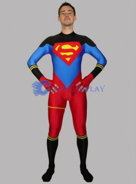 Superman Cosplay Costume Handsome Halloween