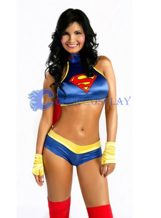 Superman Cosplay Costume Sexy Halloween