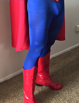 Superman Cosplay Red Boots 15090213