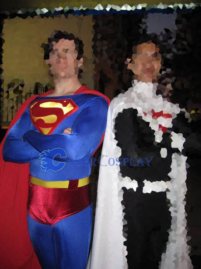 Superman Costume For Halloween Catsuit