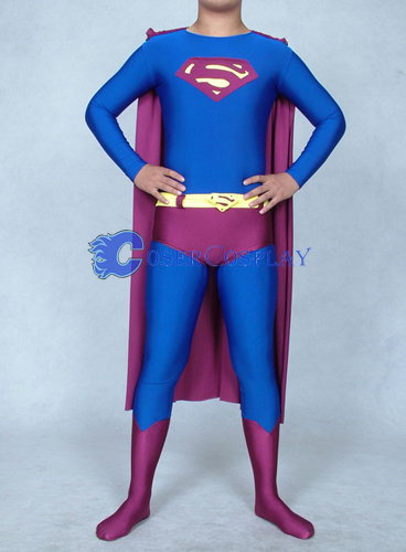 Superman Costume Halloween Superhero Capes