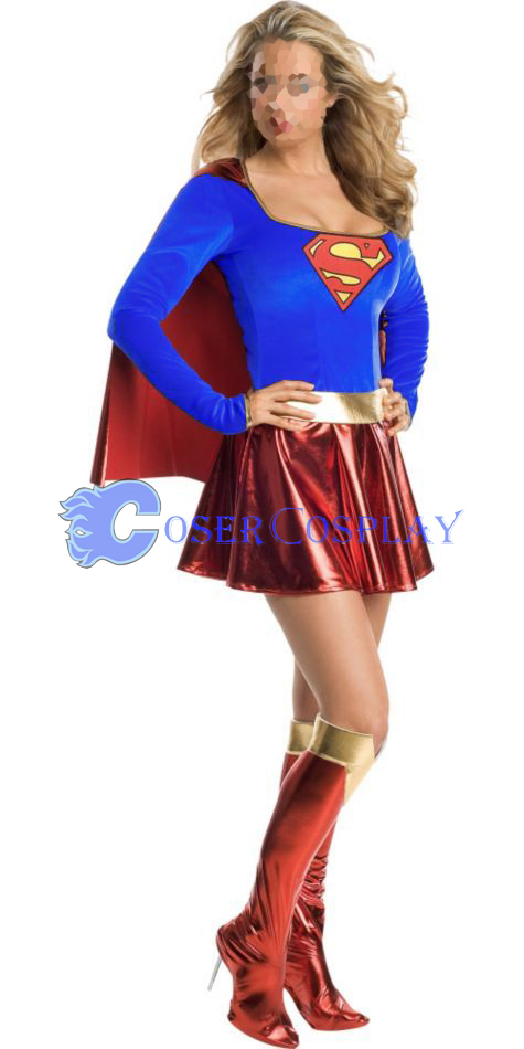 Superman Dress Halloween Costumes For Women