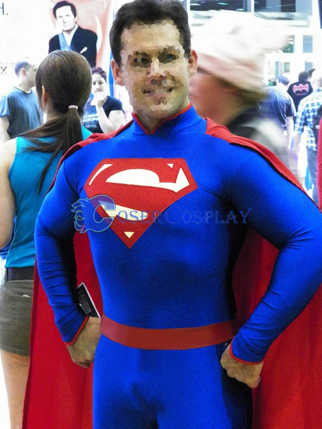 Superman Halloween Costume Superhero Capes