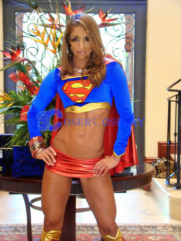 Superman Sexy Halloween Costumes For Women