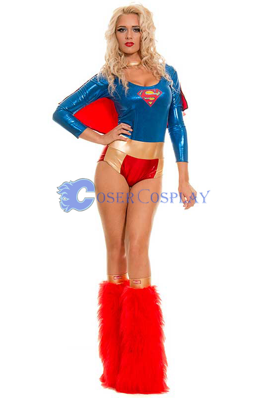 Superwoman Cosplay Costume For Halloween New