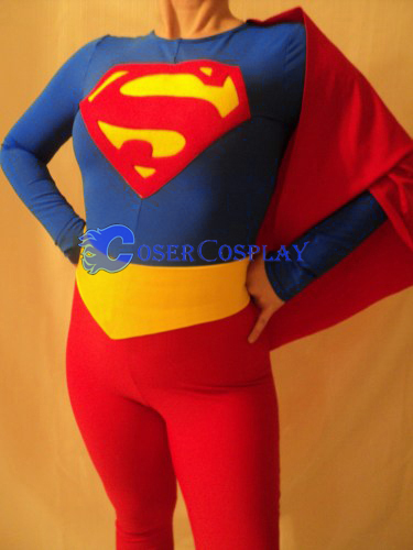Superwoman Cosplay Costume For Halloween Plus Size