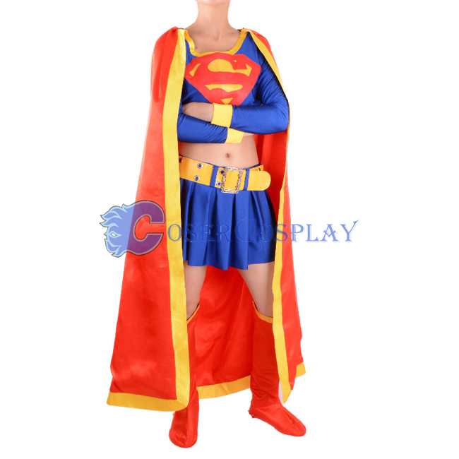 Superwoman Cosplay Costume Superhero Capes