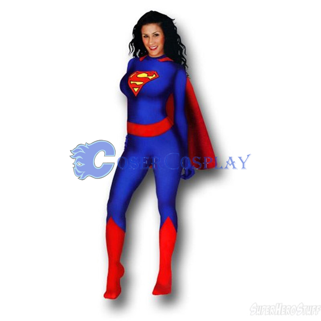 Superwoman Halloween Costume Superhero Capes