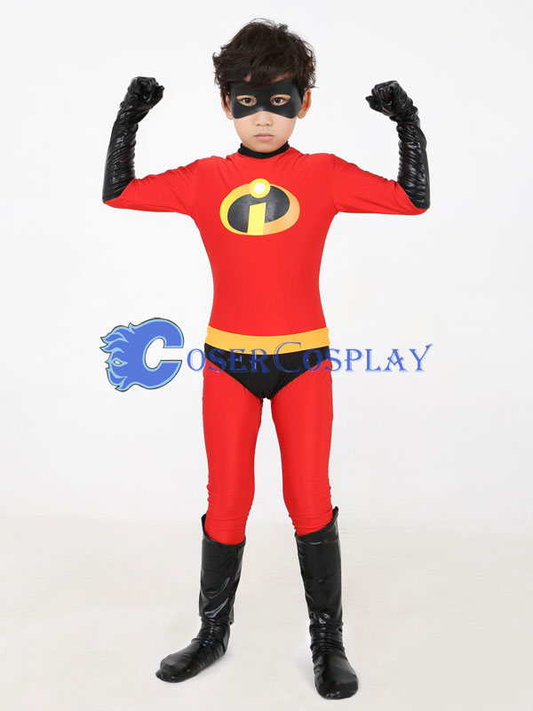 the incredibles dash parr kids halloween costumes